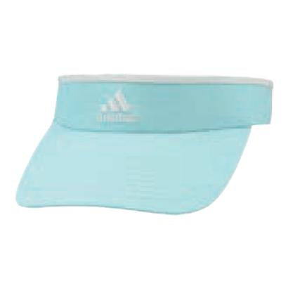 Women`s Match Tennis Visor Energy Aqua and White