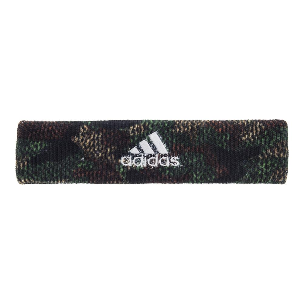 Interval Digital Print Tennis Headband Prime Camo