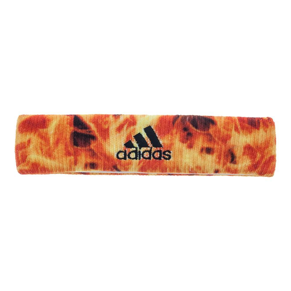 Interval Digital Print Tennis Headband Flames