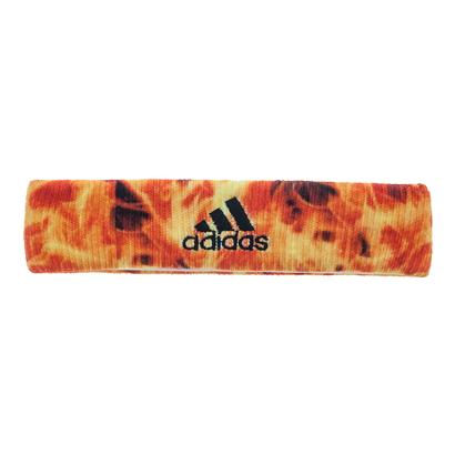 Interval Digital Print Tennis Headband Flames