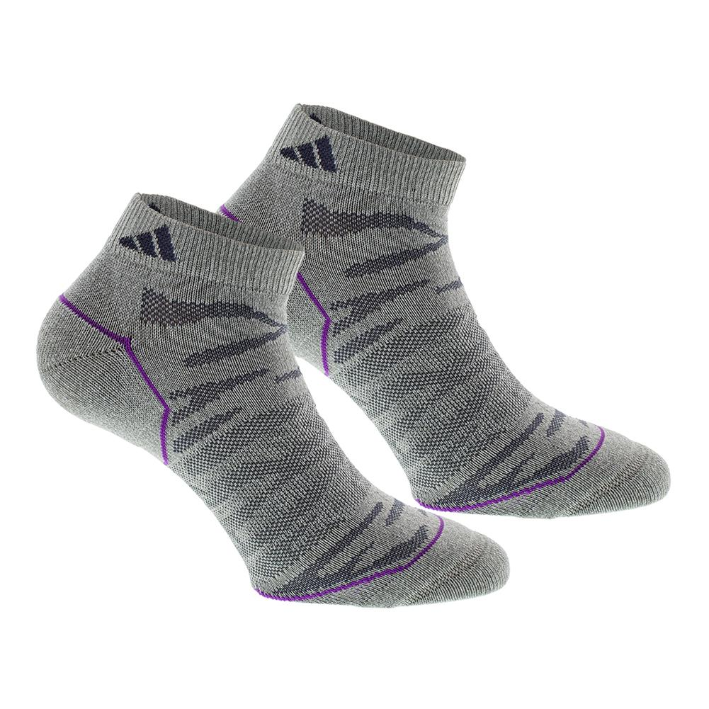 Women's Superlite Prime Mesh Low Cut Socks 2 Pack Clear Gray Marl And Mdnight Gy