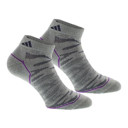 Women`s Superlite Prime Mesh Low Cut Socks 2 Pack Clear Gray Marl and Mdnight Gy