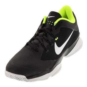 Men`s Air Zoom Ultra Tennis Shoes Black and White