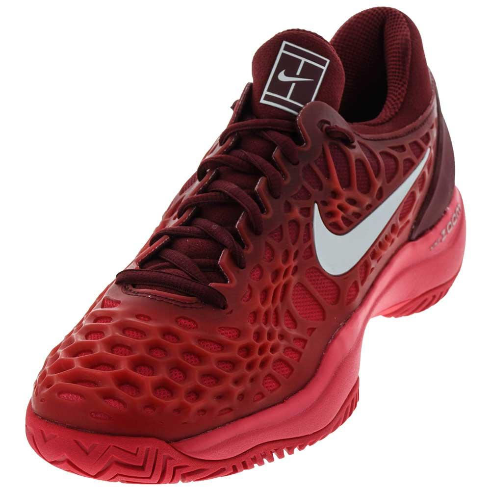 NIKE NIKE Women\u0027s Zoom Cage 3 Hc Tennis Shoes Team Red And Siren Red