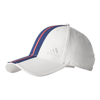Men`s New York Pharrell Williams Tennis Cap Chalk White and Dark Blue