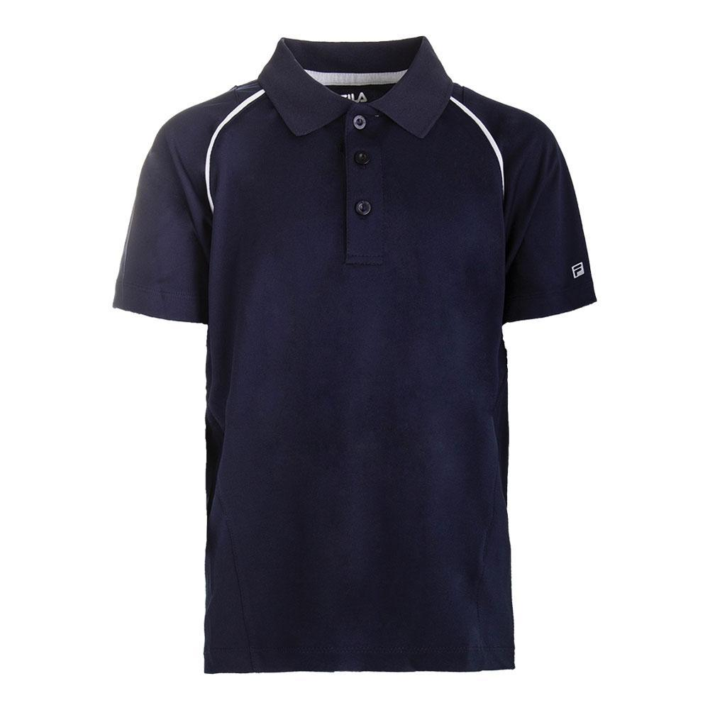 Boys ` Fundamental Tennis Polo
