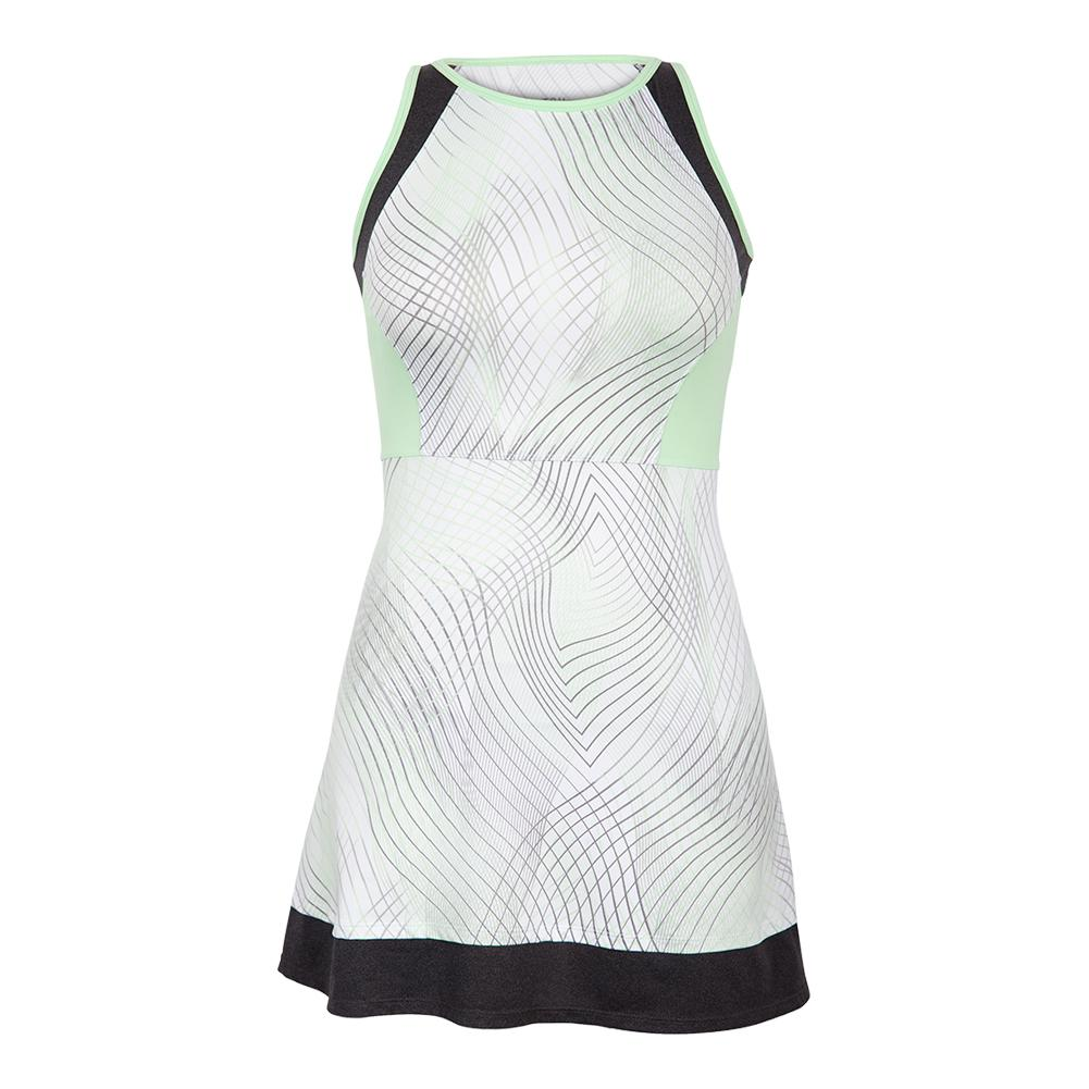 Women's Helen Tennis Dress Enchantment Honeydew