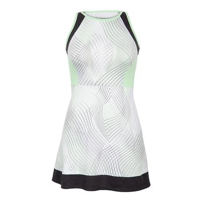 Women`s Helen Tennis Dress Enchantment Honeydew