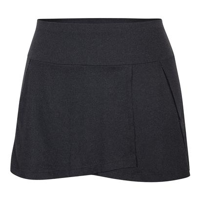 Women`s Una 13.5 Inch Tennis Skort Black Heather