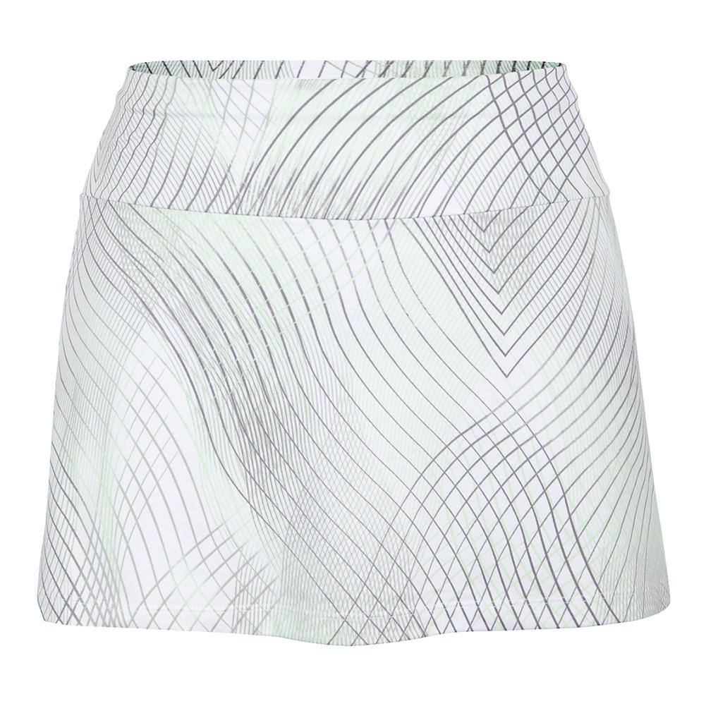Women's Yves 13.5 Inch Tennis Skort Enchantment Honeydew