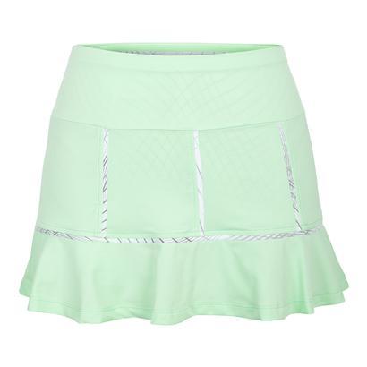 Women`s Brianna 13.5 Inch Tennis Skort Honeydew