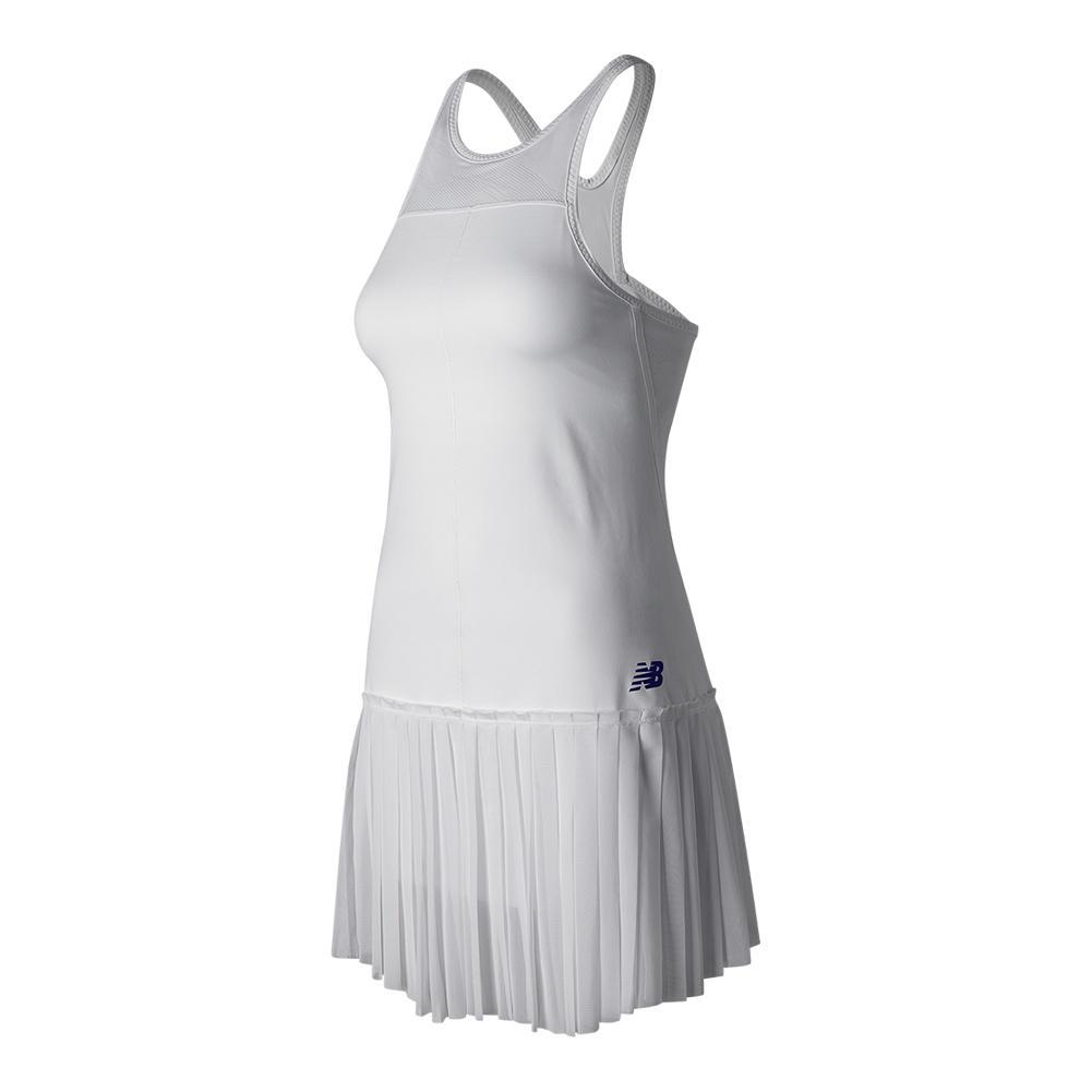 Women's English Rose Tennis Dress White