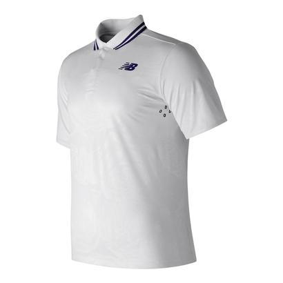 Men`s Tournament Wimbledon Tennis Polo White