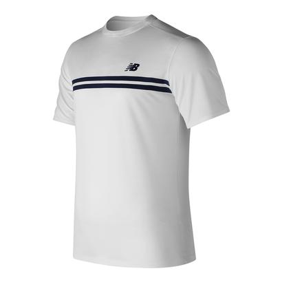 Men`s Court Tennis Crew White