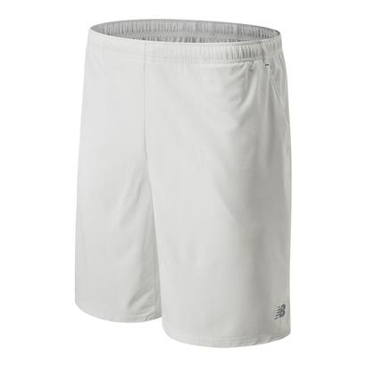 Men`s Casino 9 Inch Woven Tennis Short White