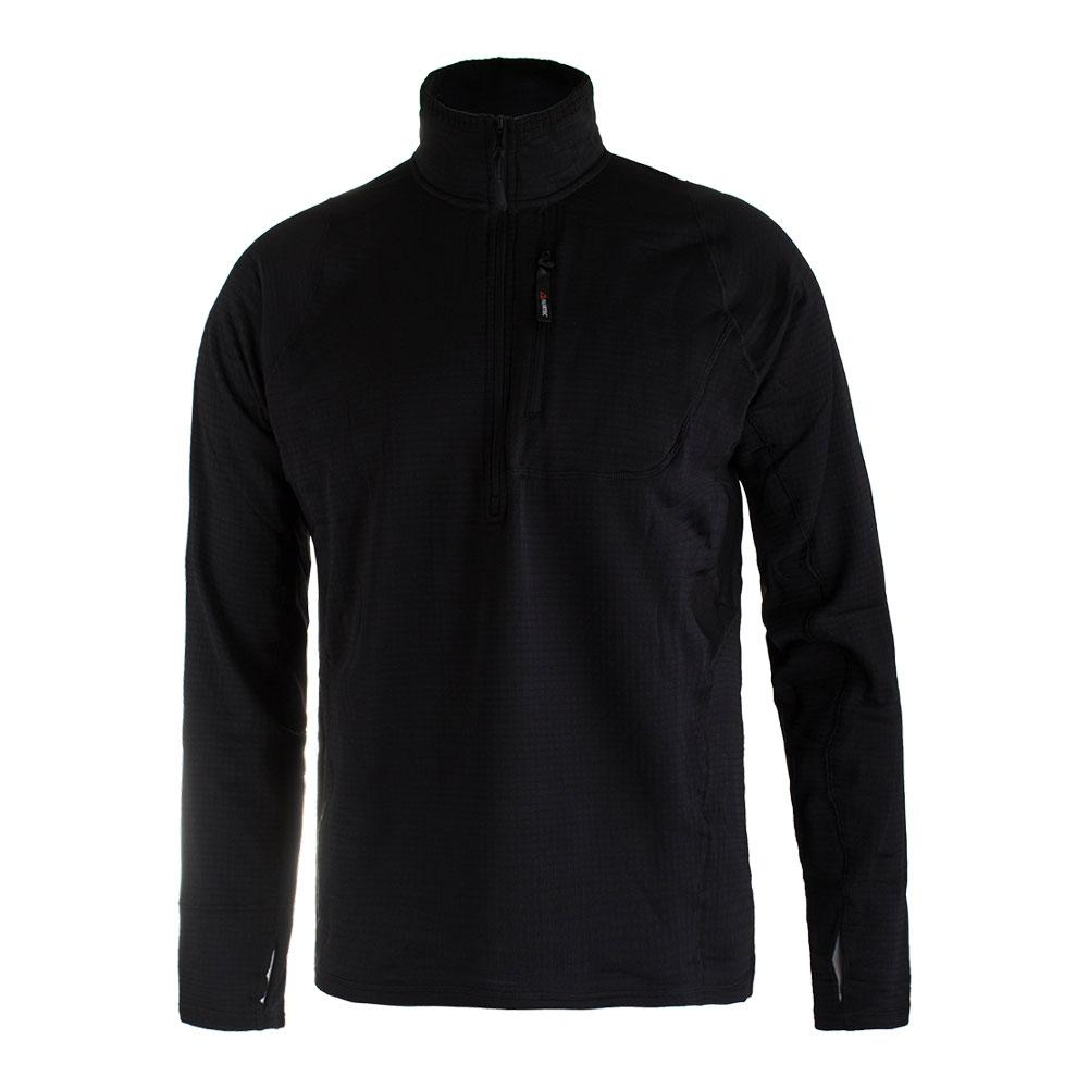 Men's Fundamental Half Zip Tennis Pullover Black