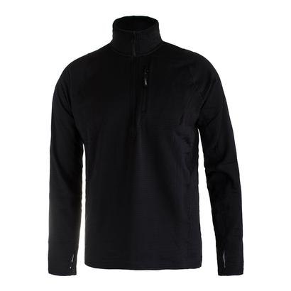 Men`s Fundamental Half Zip Tennis Pullover Black