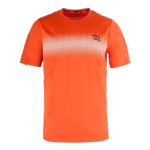 Men`s Core Dotted Printed Tennis Crew