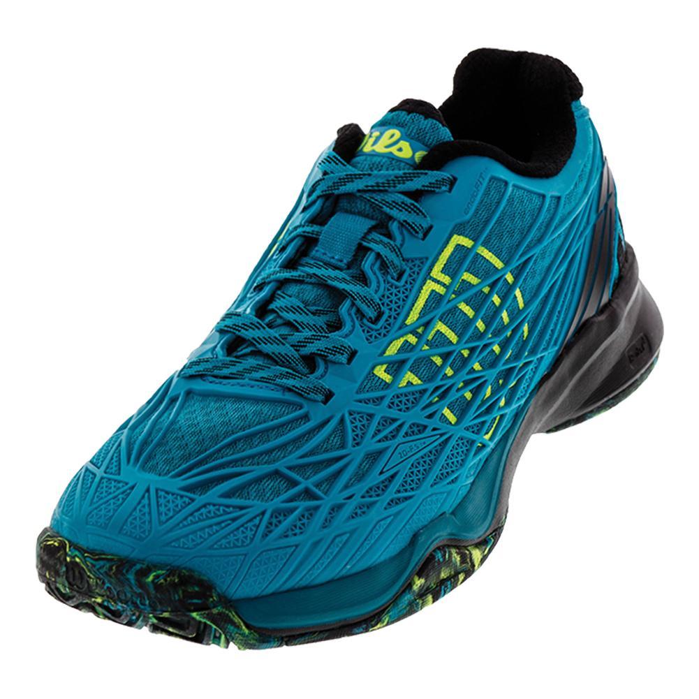 Men's Kaos All Court Tennis Shoes Enamel Blue And Black
