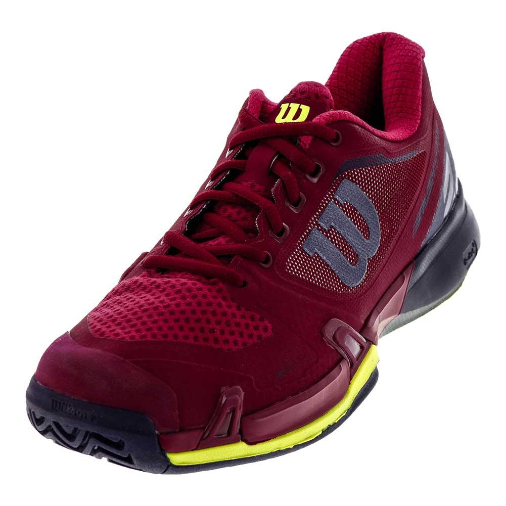 Women's Rush Pro 2.5 All Court Tennis Shoes Beet Red And Evening Blue