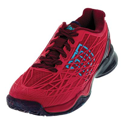 Women`s Kaos All Court Tennis Shoes Virtual Pink and Evening Blue