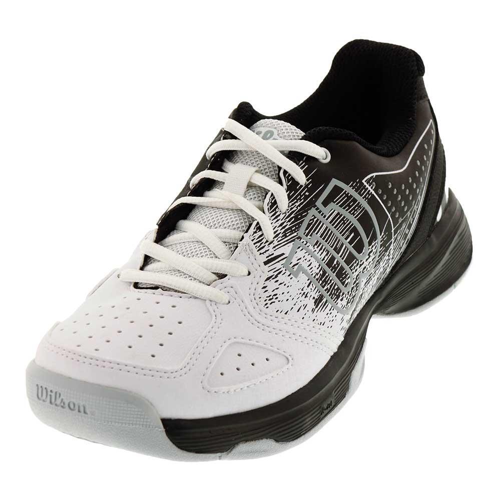 Juniors ` Kaos Comp Tennis Shoes Black And White