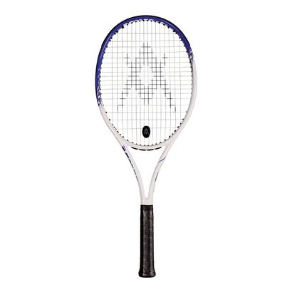 Team Speed White Blue Prestrung Tennis Racquet