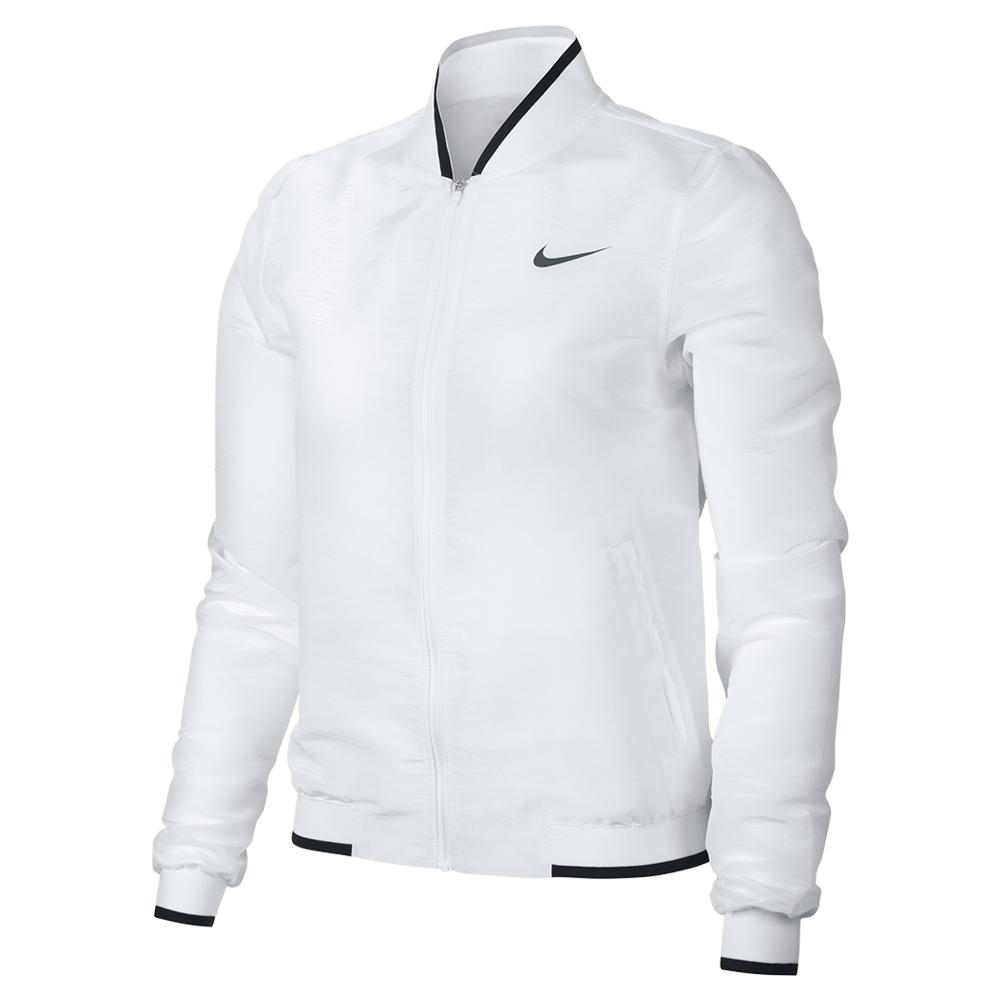 Women's Maria Court Tennis Jacket White