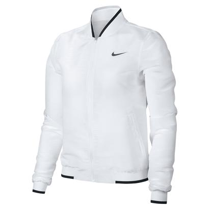 Women`s Maria Court Tennis Jacket White