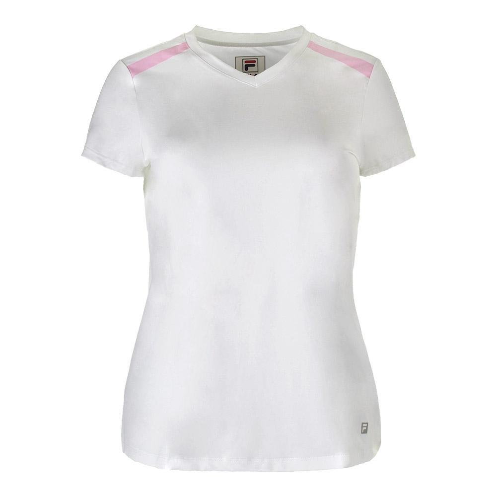 Women's Simply Smashing Cap Sleeve Tennis Top White