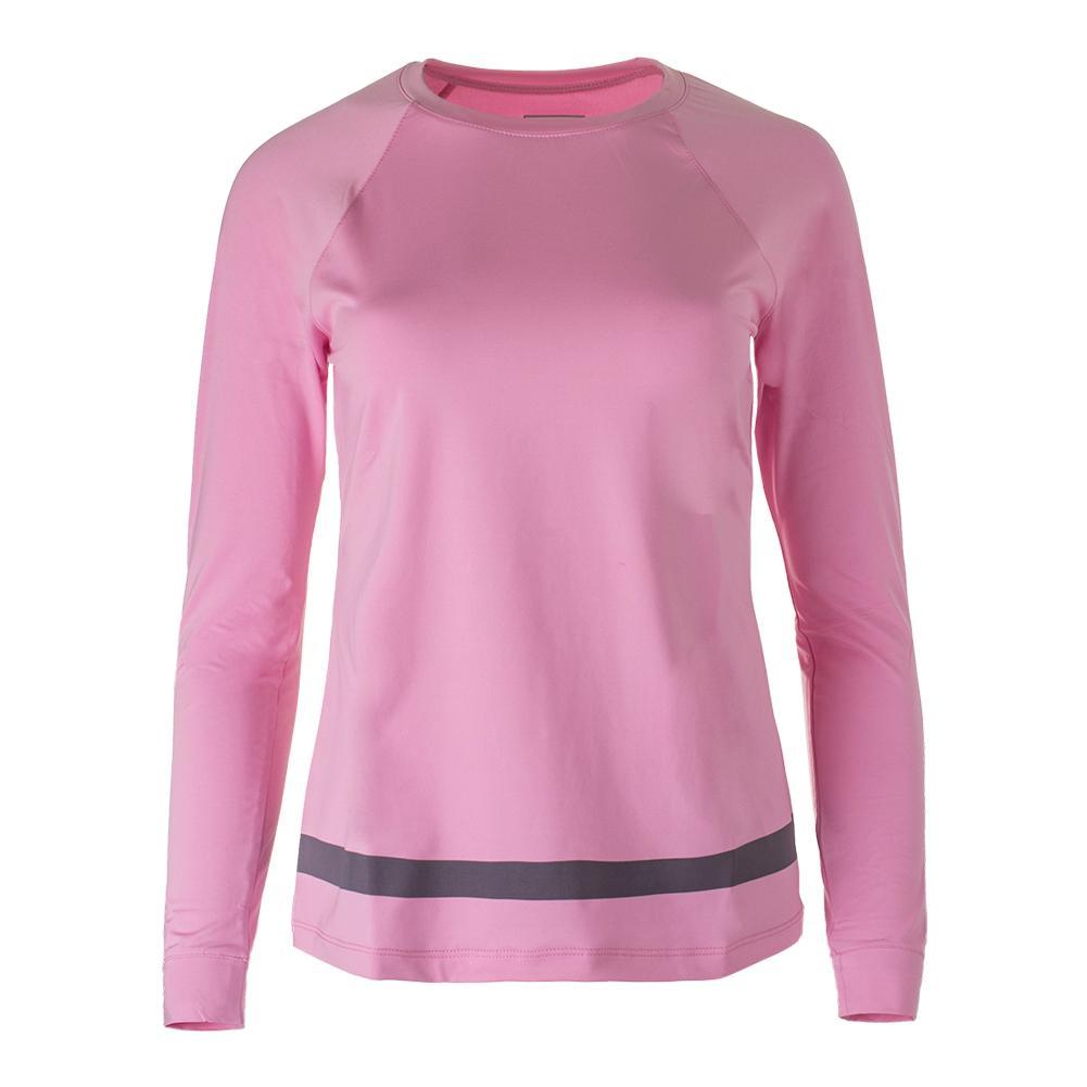 Women's Simply Smashing Long Sleeve Tennis Top Prism Pink