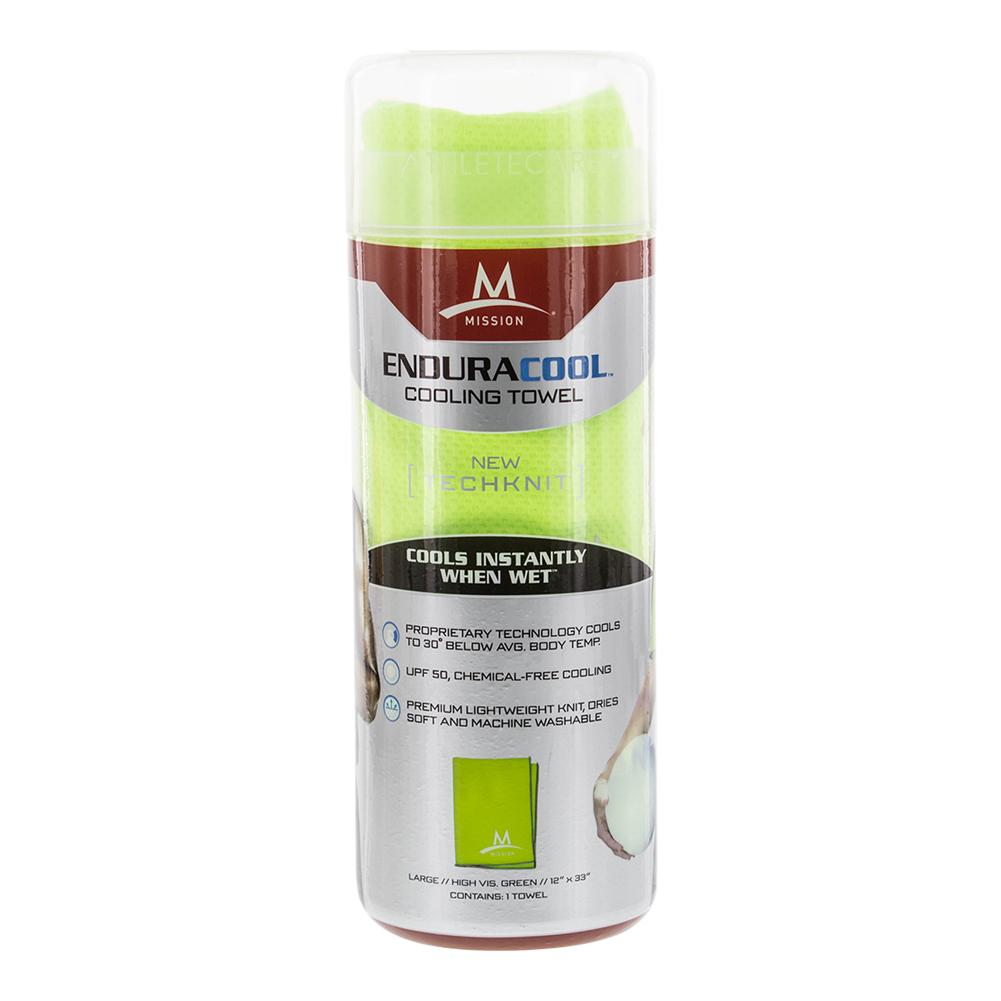 Enduracool Techknit Cooling Towel Hi Vis Green