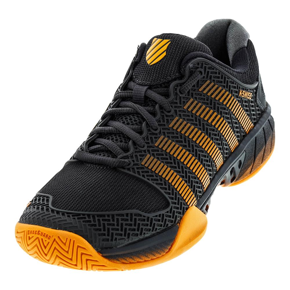 Men's Hypercourt Express Tennis Shoes Dark Shadow And Blazing Orange