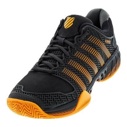 Men`s Hypercourt Express Tennis Shoes Dark Shadow and Blazing Orange