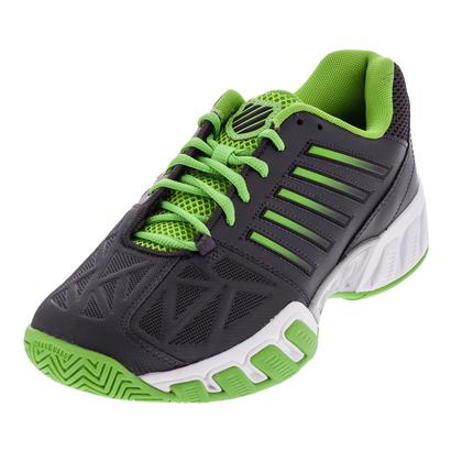 Men`s Bigshot Light 3 Tennis Shoes Dark Shadow and Jasmine Green