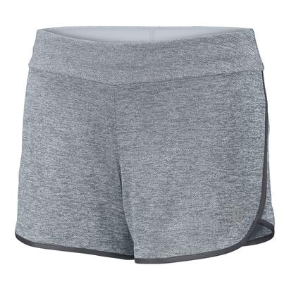 Girls` Core 3.5 Inch Tennis Short Pearl Gray and Turbulence