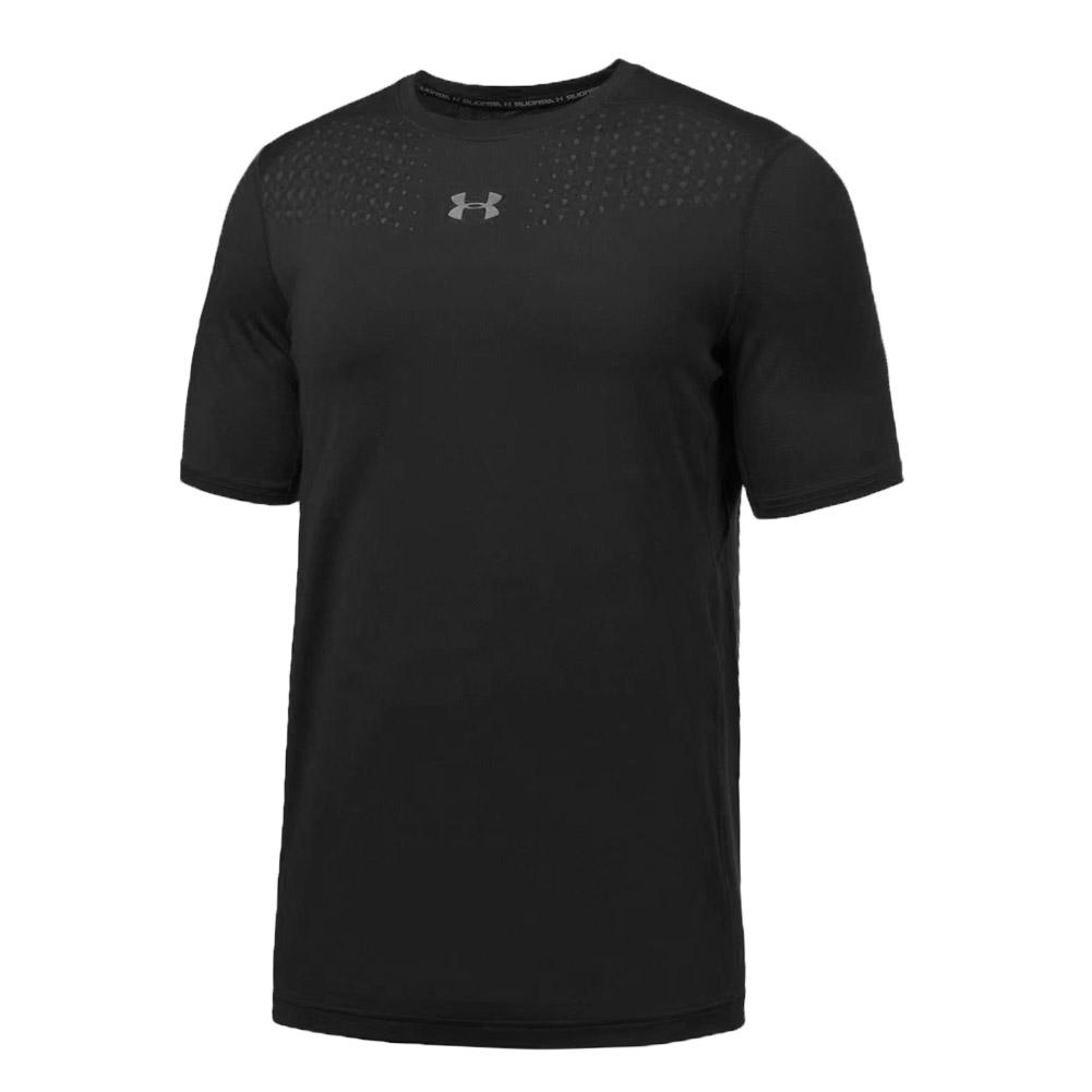 Men's Armour Coolswitch Short Sleeve Top Black