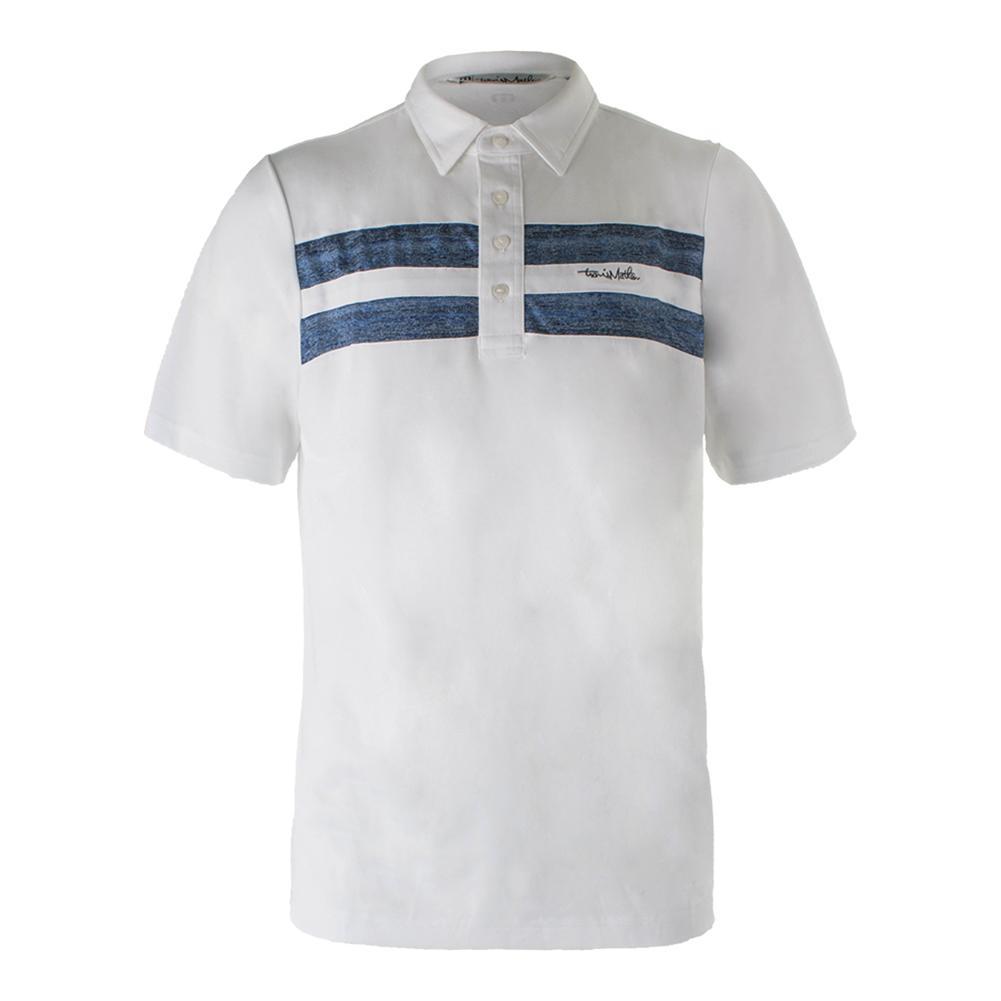 Men's Aaron Tennis Polo White