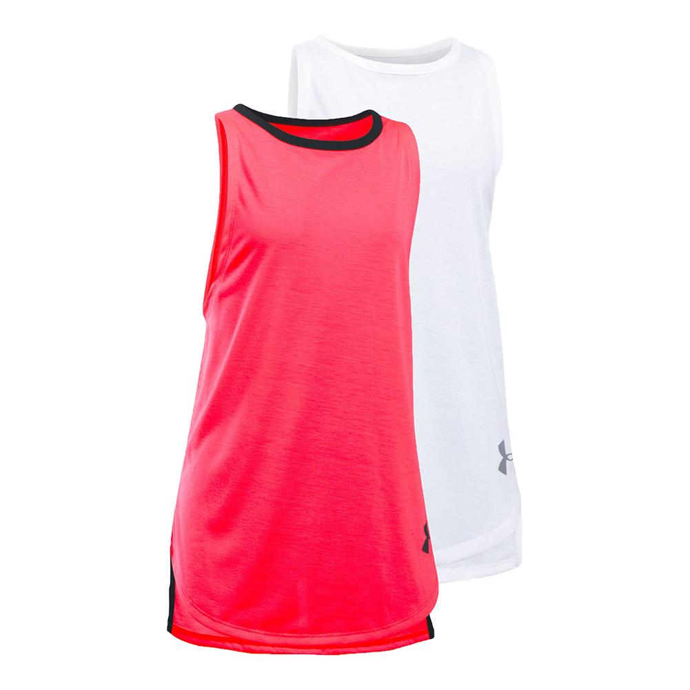Girls ` Threadborne Play Up Tank