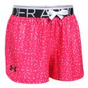 Girls` Play Up Printed Short 975_PENTA_PINK/WHITE