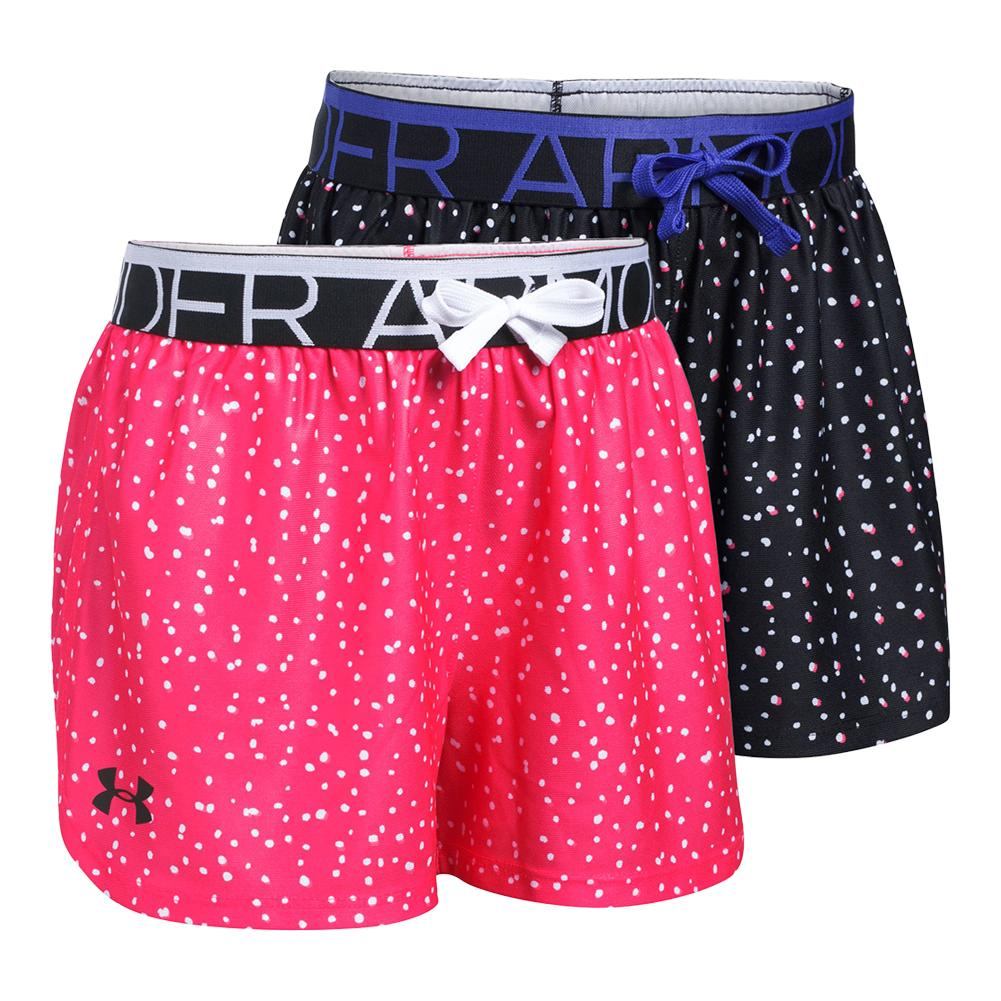 Girls ` Play Up Printed Short