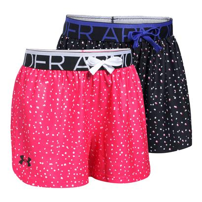 Girls` Play Up Printed Short
