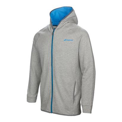Boys` Core Hood Tennis Sweat Heather Gray