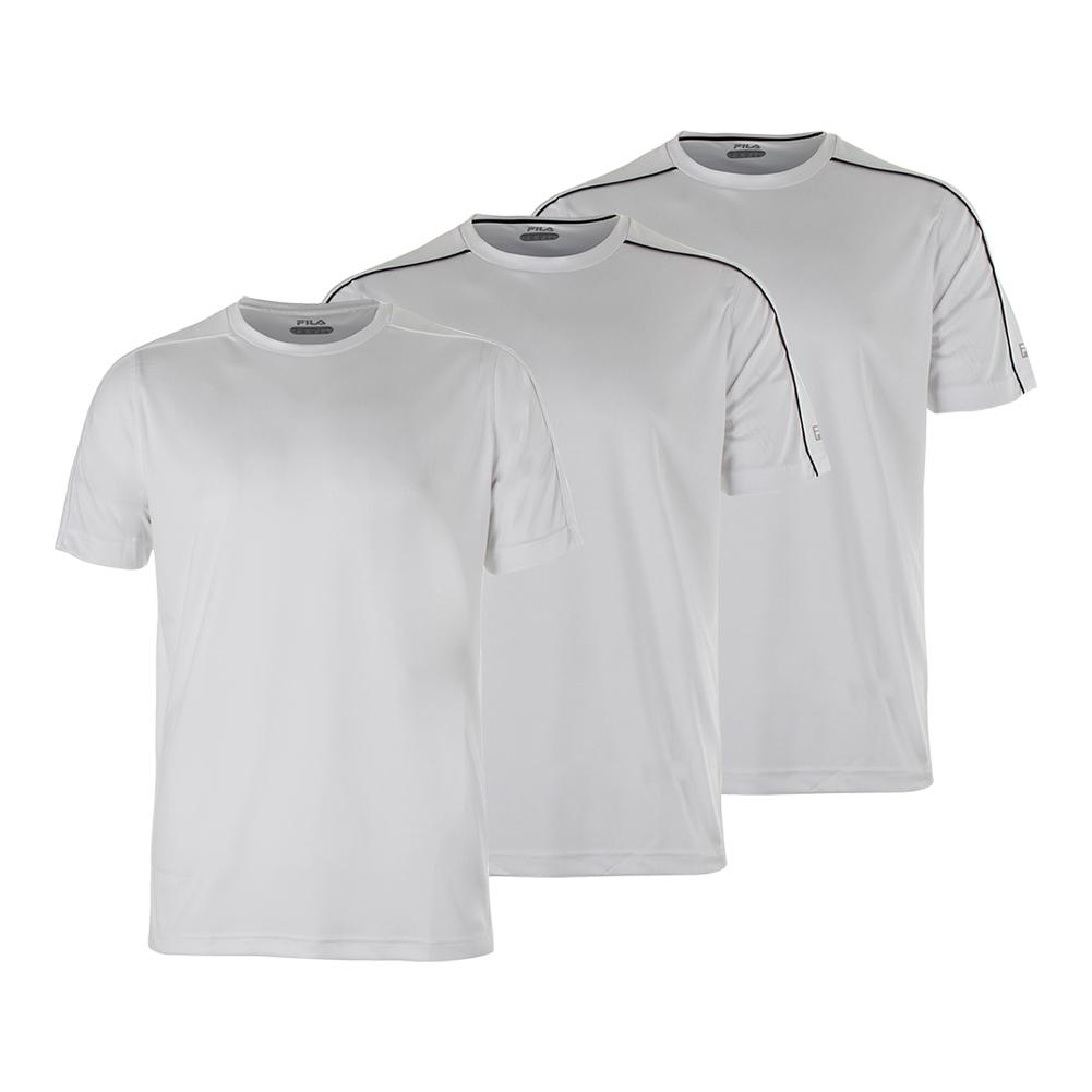 Men's Fundamental Piped Tennis Crew