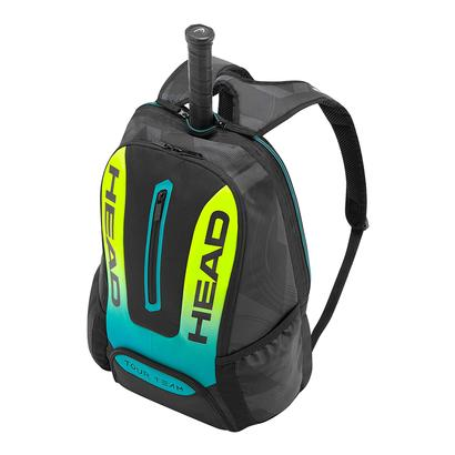 Extreme Tennis Backpack Black and Yellow
