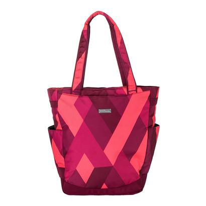 Women`s Tennis Tote Red Print