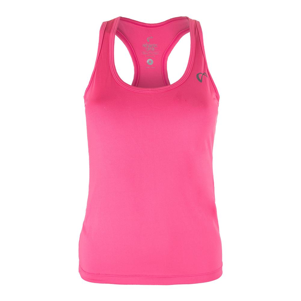 Girls ` Refresh Tennis Tank Pink