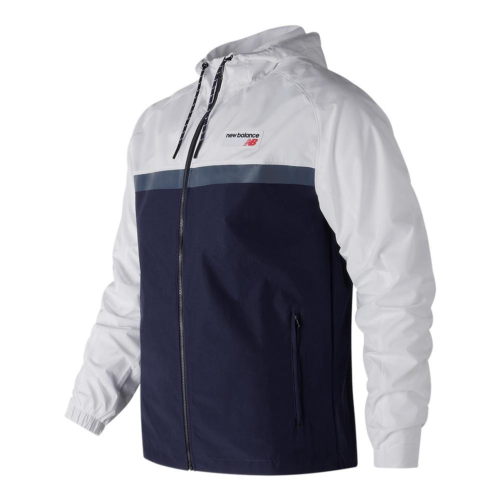 Men's Nb Athletics 78 Tennis Jacket White