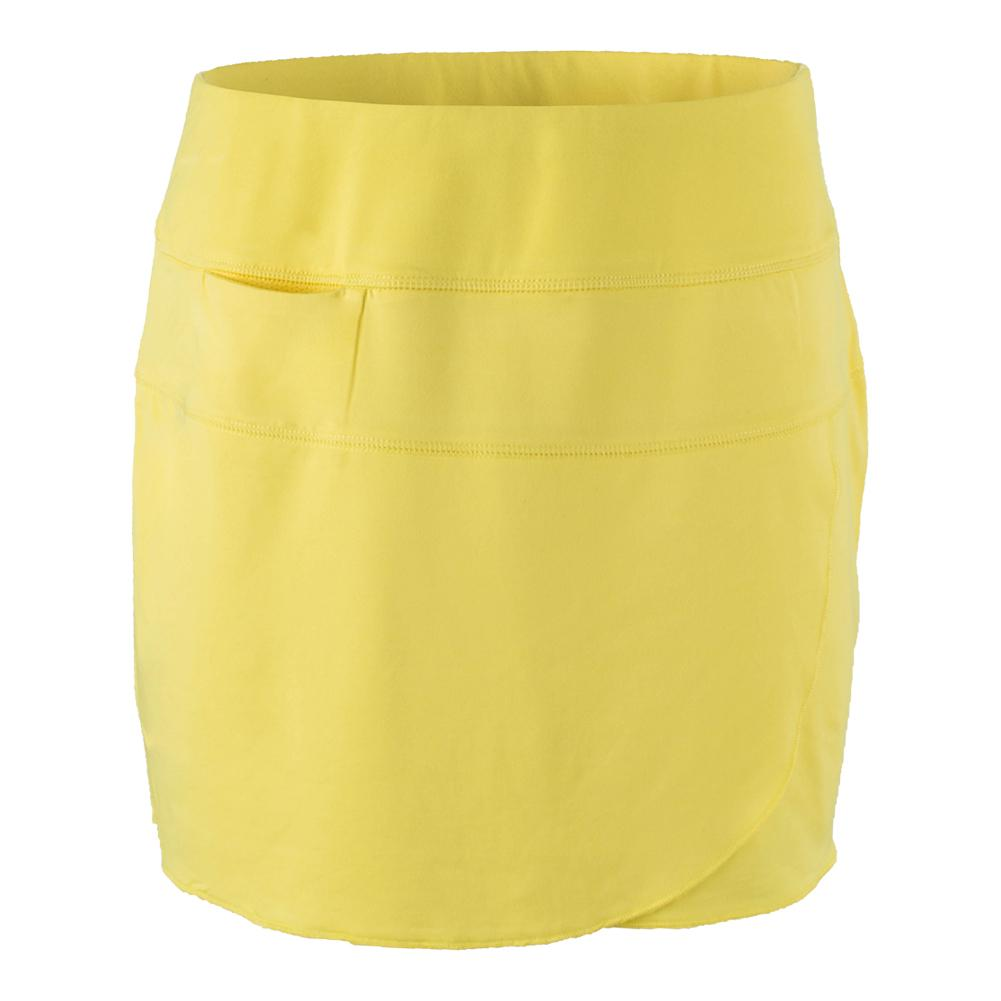 Women's Kelly Tennis Skort Vibrant Yellow