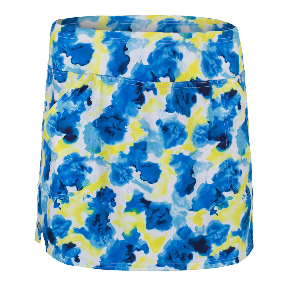 Women's Mina Tennis Skort Phoenix Watercolor Print